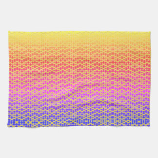 sunset tea towel