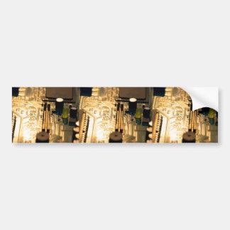 Sunset Technology Bumper Sticker