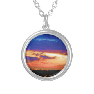 SUNSET TEMPLATE Resellers Customers add text image Custom Necklace