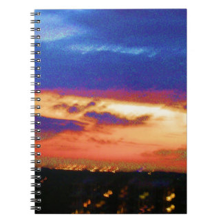 SUNSET TEMPLATE Resellers Customers add text image Note Books