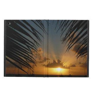 Sunset Through Palm Fronds Tropical Seascape Powis iPad Air 2 Case