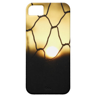 Sunset through the fence iPhone 5 case