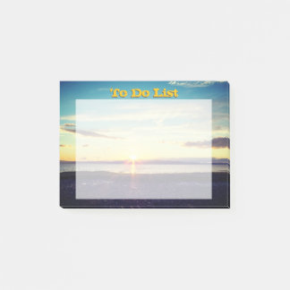 Sunset To Do List Post-it Notes