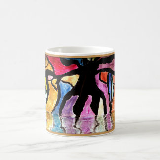 Sunset Tree Art Coffee Mug