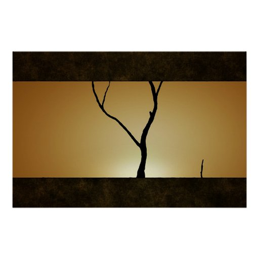 Sunset Tree Posters