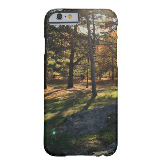 Sunset Trees Barely There iPhone 6 Case