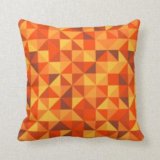 Sunset Triangle Pattern Cushion