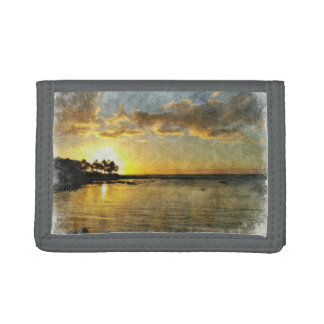 Sunset Trifold Wallet