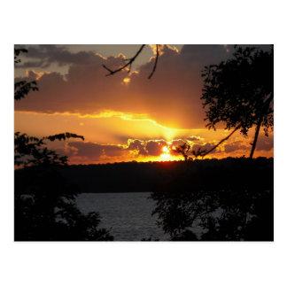 Sunset - Truman Lake Postcard