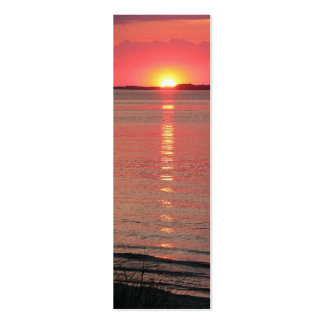 Sunset Twilight Bookmark/Business Cards Pack Of Skinny Business Cards