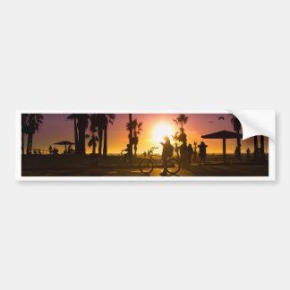 sunset Venice Bumper Sticker