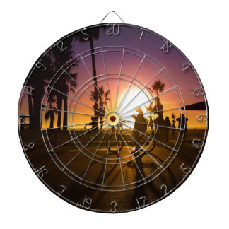sunset Venice Dartboard