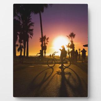 sunset Venice Plaque