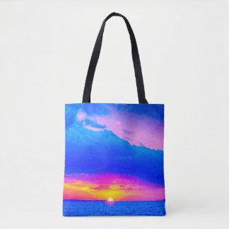 Sunset Vibrance Tote Bag