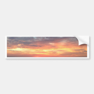 Sunset view from the Atlantic Bumper Sticker