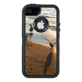 Sunset Walk With Mommy OtterBox Defender iPhone Case