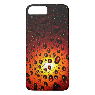Sunset waterdrops iphone 7 plus cases