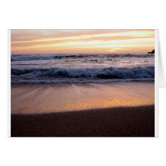 Sunset Wave Card