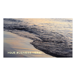 Sunset Waves Business Card