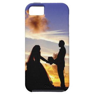 Sunset Wedding Couple iPhone 5 Covers