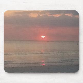 sunset west coast florida mouse pad