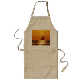 Sunset with Boat Apron
