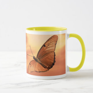 Sunset with Butterfly Mug