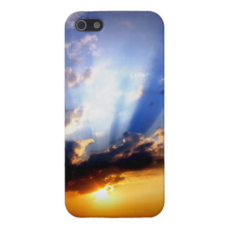Sunset with Clouds, Beautiful Sky Case For The iPhone 5