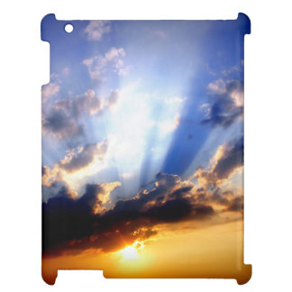 Sunset with Clouds, Beautiful Sky iPad Cases