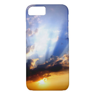 Sunset with Clouds, Beautiful Sky iPhone 8/7 Case
