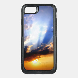 Sunset with Clouds, Beautiful Sky OtterBox Commuter iPhone 8/7 Case