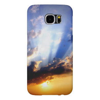 Sunset with Clouds, Beautiful Sky Samsung Galaxy S6 Cases