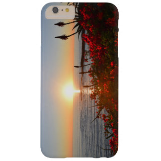 Sunset with flowers phonecase barely there iPhone 6 plus case