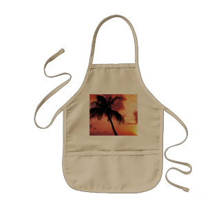 Sunset with Palm Aprons