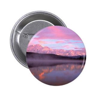 Sunset Wonder Lake Mount Denali Pin