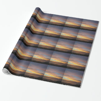 Sunset Wrapping Paper