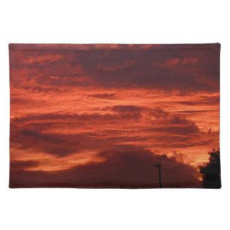 Sunset Yorkshire landscape Placemat