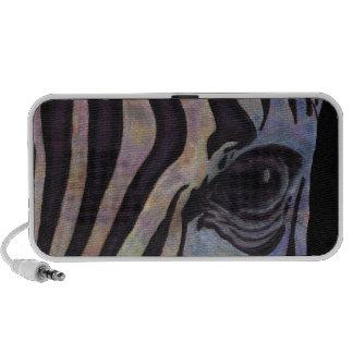 Sunset Zebra Portable Speaker (Lori Corbett)