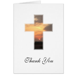 SunsetCross1, Thank You Cards