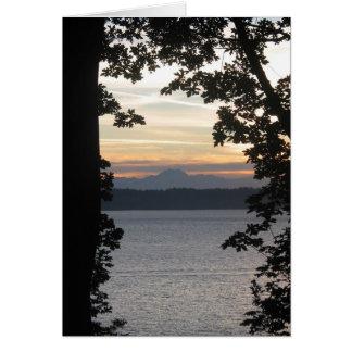 Sunsetframed Card