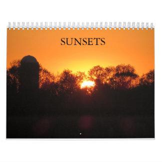 Sunsets Calendar