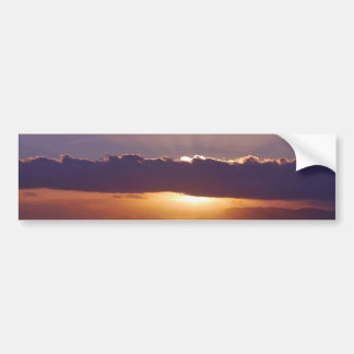 Sunsets in The Cape South Africa Bumper Sticker