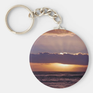Sunsets in The Cape South Africa Keychain