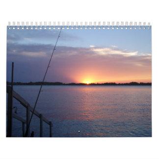 Sunsets on the Lake Calendar