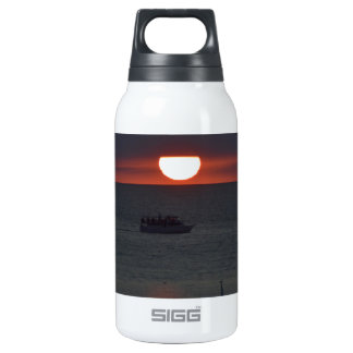 Sunsetting over Lake Michigan 0.3L Insulated SIGG Thermos Water Bottle