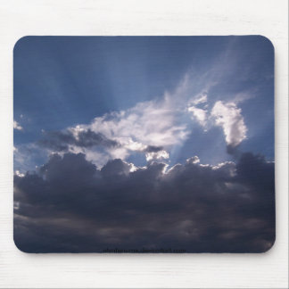 Sunshine and Clouds Mouse Pad