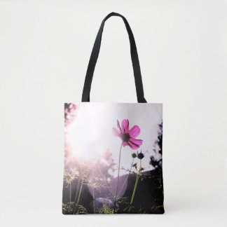 Sunshine and Cosmos Tote Bag