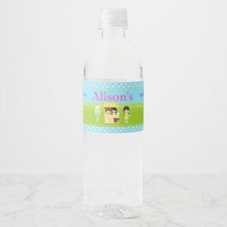 Sunshine and Lemonade Birthday Water Bottle Label