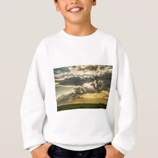 Sunshine_Beams_of  Gold_Raining_Down Sweatshirt