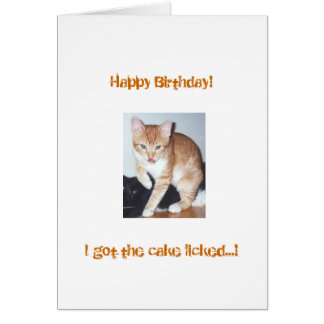 Sunshine - Birthday Card